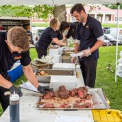 Outdoor BBQ Catering