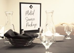 Plated Catering Services