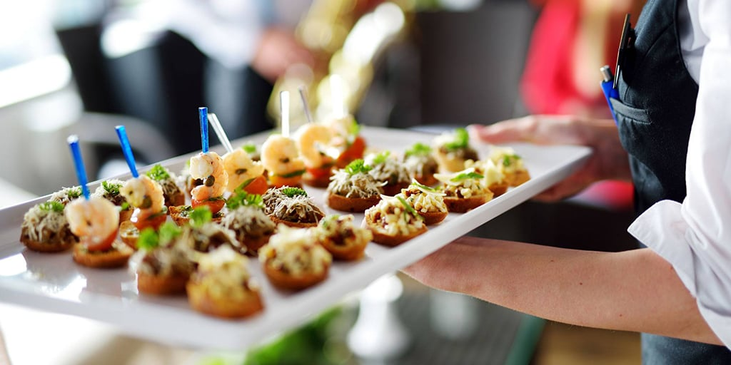 Catering Food Tray