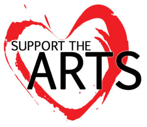 Support the Arts Heart Logo