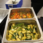 Asparagus with zucchini and squash, Key West blend of vegetables